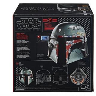 Hasbro 孩之宝 星球大战E7黑色系列 波巴·费特 帝国反击战 高级电子头盔