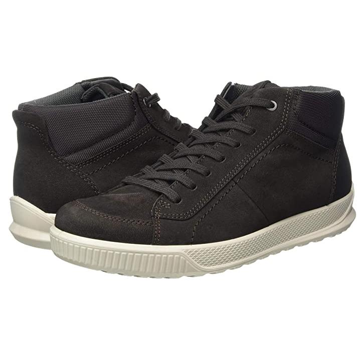 ecco 爱步 男士纺织靴 501574 Licorice Shale 40