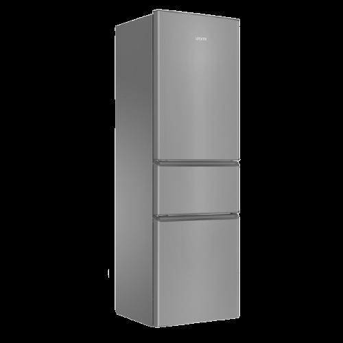 Haier 海尔 BCD-218LLC3E0C9 直冷三门冰箱 218L 月光银