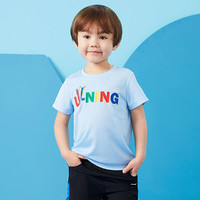 LI-NING 李宁 男童短袖T恤