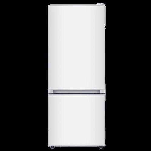 康佳(KONKA)156升两门双门 小户型 家用租房小冰箱 高颜值 冷藏冷冻节能保鲜静音 新品 白色