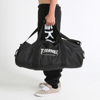 THRASHER Logo Duffel Bag 男子运动背包 THRABH004