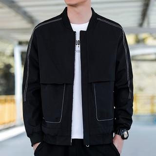 Lee Cooper MD8YBH168-B 男士休闲简约夹克外套
