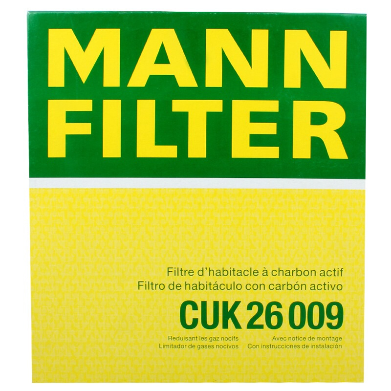 MANNFILTER 曼牌滤清器 CUK26009 空调滤清器
