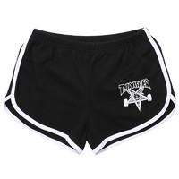 THRASHER Skate Goat Night Shorts 中性运动短裤 THRAF5001 黑色 L
