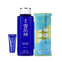 KOSE 高丝 雪肌精(化妆水 100ml+菁华凝霜6g+70元回购券)