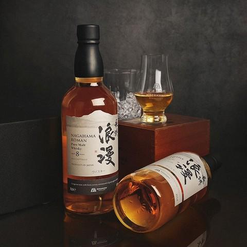PLUS会员:长滨浪漫 8年纯麦威士忌 700ml