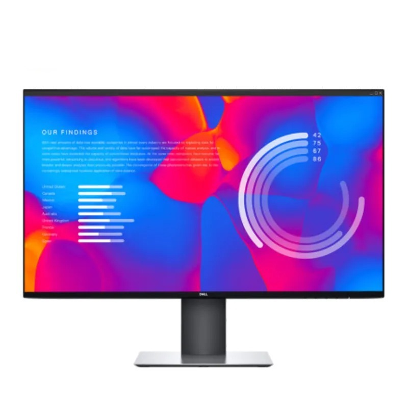 DELL 戴尔 DELL戴尔U2721DE 27英寸2K显示器IPS屏微边框旋转升降USB-C显示屏