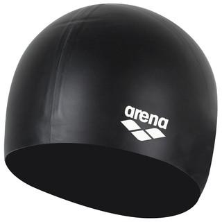 arena 阿瑞娜 ACG210-BLK 硅胶防水高弹舒适泳帽 黑色