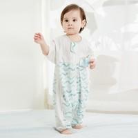 Wellber 威尔贝鲁   婴儿睡袋四季通用 水波纹
