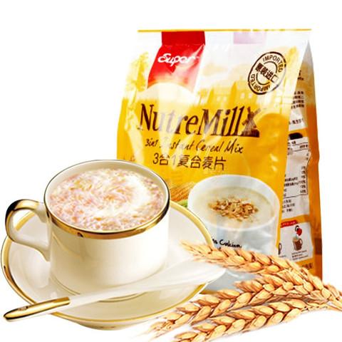 超级牌super马来西亚进口3合1即食谷物营养早餐牛奶搭档清真食品