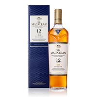 88VIP:MACALLAN 麦卡伦双桶 12年 单一麦芽威士忌 700ml