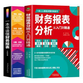《財務報表分析從入門到精通+一本書讀懂財務報表》(共2冊)