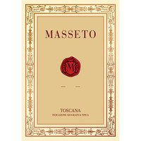 Masseto 马赛多酒庄 马赛多酒庄托斯卡纳IGT梅洛干型红葡萄酒 2016年