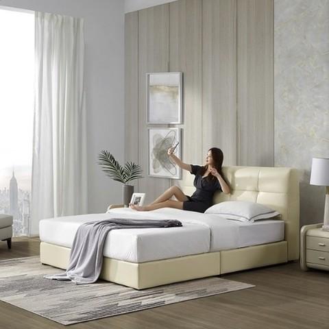 小编精选:一张好床,陪伴你每个日日夜夜——顾家家居 DK.B112 头层牛皮床