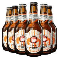 常陆野猫头鹰IPA啤酒 330mlx6瓶 组合装 日本进口
