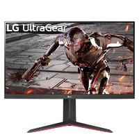 LG 乐金 Ultra Gear 32GN650–B 31.5英寸 VA FreeSync 显示器(2560×1440、165Hz、95%sRGB、HDR10)