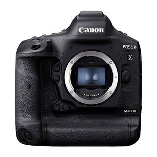 Canon 佳能  EOS 1DX3 全画幅 数码单反相机 黑色 单机身
