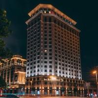 周末不加价!上海东方商旅酒店 悦外滩江景大床房1晚(含早餐+下午茶/午餐)