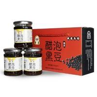 桃溪 永春 醋泡黑豆 160g*3瓶