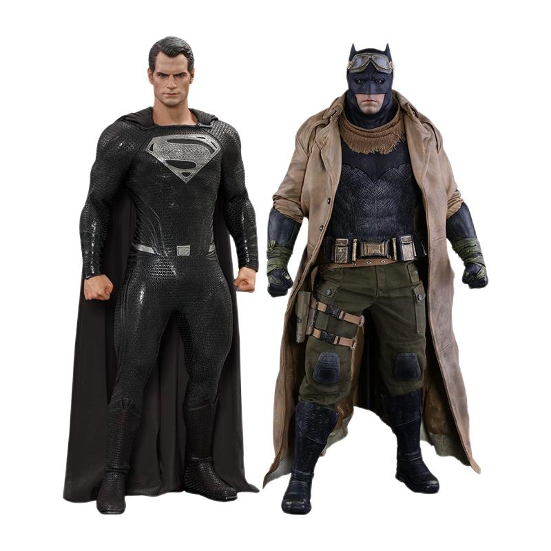 HOT TOYS 狂热玩具 扎克·施奈德版正义联盟 1/6 TMS038 蝙蝠侠和超人 噩梦版