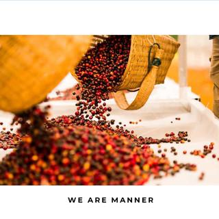 MANNER云南精品咖啡豆焦糖杏派保山厌氧水洗浅中烘焙可磨粉250g