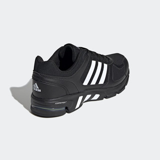 adidas 阿迪达斯 Equipment 10 U 中性跑鞋 GZ5297 黑色/白色 46.5