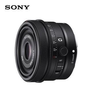 SONY 索尼 G系列 FE 40mm F2.5 无反定焦镜头