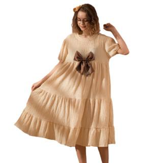 FENTENG 芬腾   X98222222 女士短袖甜美睡裙#运动时尚国货新品#甜美可爱 品质很好
