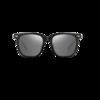 MingYue 明月 男女款太阳镜 62008 C1 黑框深空灰片 52mm