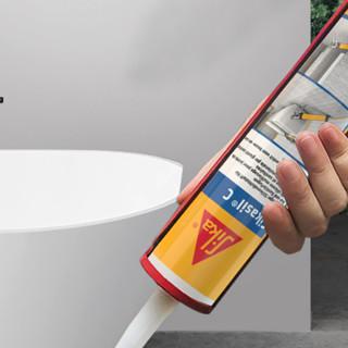 Sika 西卡 20209111120 防水防霉卫浴马桶专用防漏水密封胶 透明色