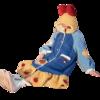 Gukoo 果壳 迪士尼联名 女士珊瑚绒睡袍 TEST200825YYL01 深蓝色 S