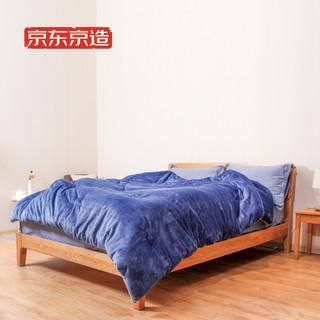京东京造 宝宝绒被 150x200cm 4.3斤 超柔绒感 红外反射保暖技术