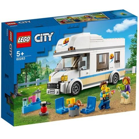 LEGO 乐高 城市系列 60283 假日野营房车