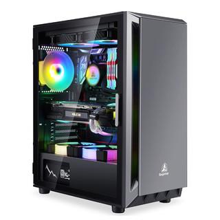 京天华盛 设计师 组装台式机(i7-10700F、16GB、250GB、P1000)
