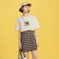 LEDIN CWDAB1704 女士印花短袖T恤