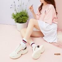 安踏女款训练鞋户外跑步轻便防滑运动鞋舒适休闲鞋