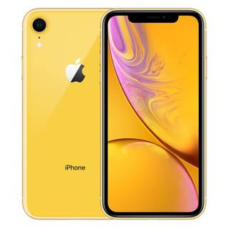 Apple 苹果 iPhone XR 4G手机 64GB 黄色