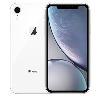 Apple 苹果 iPhone XR 手机 全网通 白色 128GB