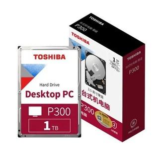 TOSHIBA 东芝 P300系列 1TB 3.5英寸 台式机硬盘 HDWD110(7200rpm、PMR)