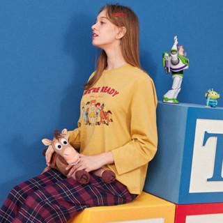 LEDIN 乐町 玩具总动员联名系列 女士长袖睡衣 CLDCA3212