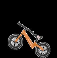 KinderKraft 可可乐园 儿童自行车 12寸 橙色