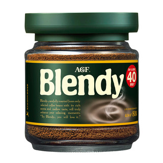 AGF blendy 布兰迪 绿罐速溶黑咖啡粉 80g/罐