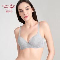 Triumph/黛安芬简约光面百搭大胸适用舒适无痕薄款文胸E002478