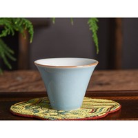 四宜堂 景德镇 制纯手工制作 颜色釉 茶杯 46*61cm 高温硬质瓷