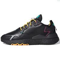 adidas Originals Nite Jogger 男子休闲运动鞋 FX8722 黑/银/蓝 40