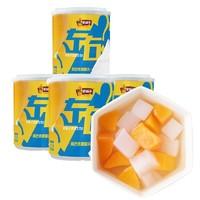 林家铺子 双色水果罐头 200g*4罐