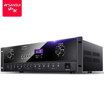 山水(SANSUI)DM2 家庭ktv音响功放机 家用卡包音箱专用 高保真蓝牙无线大功率音乐功放