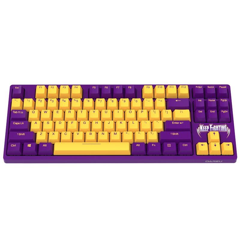 Dareu 达尔优 A87 87键 有线机械键盘