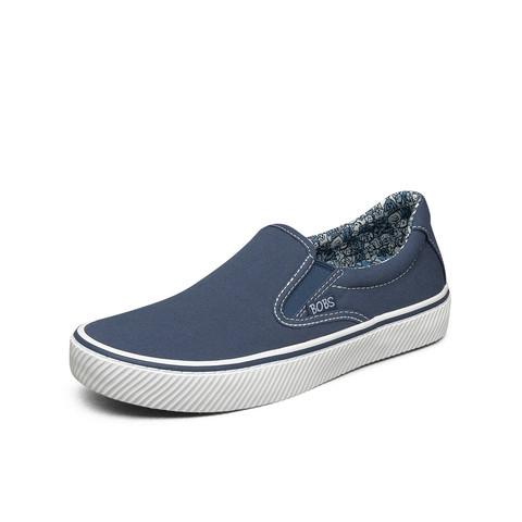 斯凯奇2021新品一脚蹬懒人鞋女子小白鞋女鞋子休闲帆布鞋